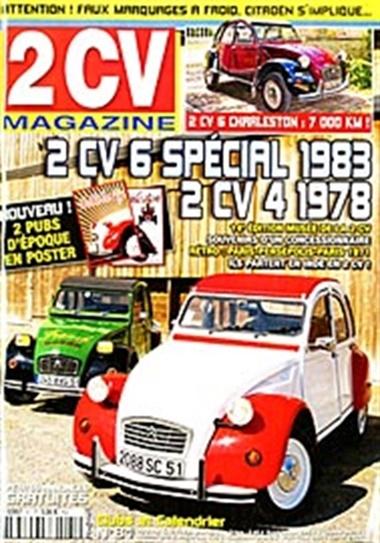 2 Cv - Deux Chevaux Magazine omslag