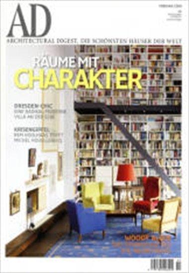 Ad-architectural Digest omslag