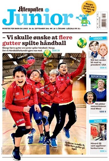 Aftenposten Junior omslag