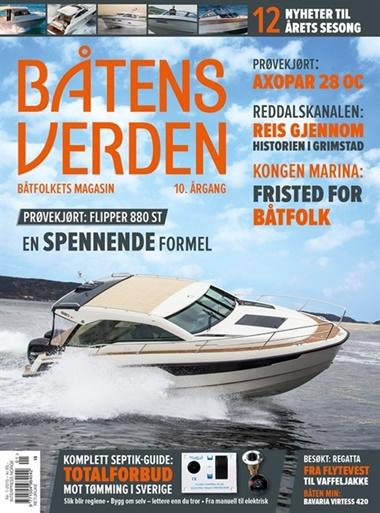 Båtens verden omslag