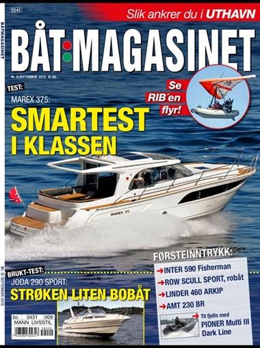 Båtmagasinet omslag