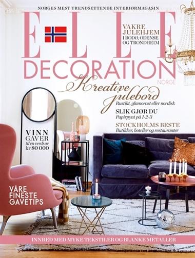 ELLE Decoration omslag