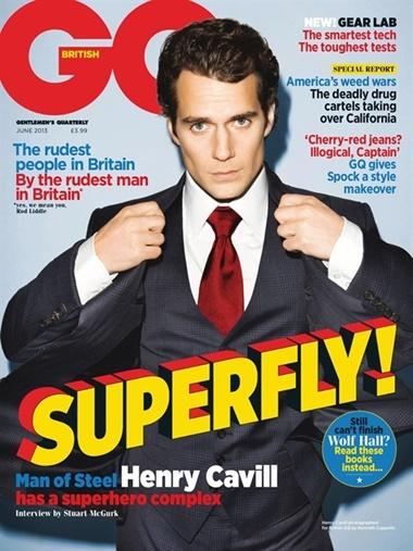 GQ  (UK Edition) omslag