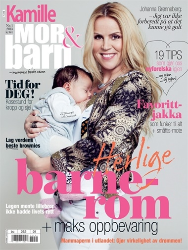 Kamille Mor & Barn omslag