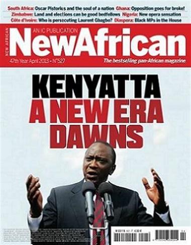 New African omslag