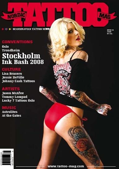 Nordic Tattoo Mag. Norges eneste skandinavisk språklige blad som omhandler