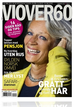 VI OVER 60 Omslag