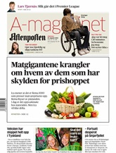 Aftenposten omslag