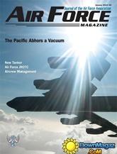 Air Force Magazine & Almanac omslag