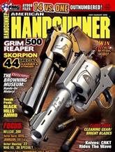 American Handgunner Magazine omslag
