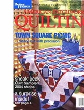 American Patchwork & Quilting omslag