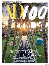 Architectural Digest omslag