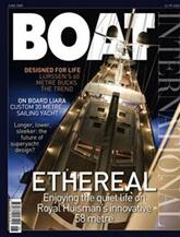 Boat International omslag