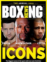 Boxing News omslag