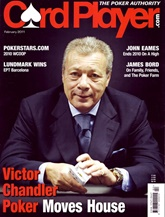 Card Player Magazine omslag