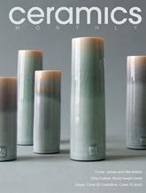 Ceramics Monthly omslag