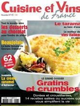 Cuisine Et Vins De France omslag