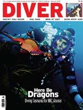 Diver Magazine omslag
