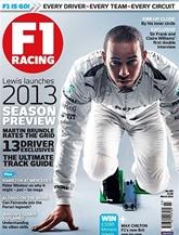 F1 Racing (UK Edition) omslag