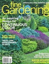 Fine Gardening omslag