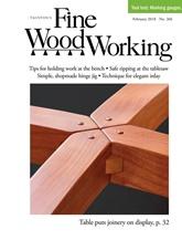 Fine Woodworking omslag