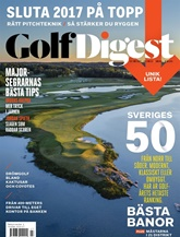 Golf Digest omslag