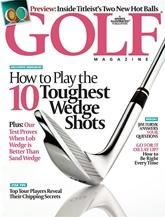 Golf Magazine omslag