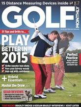 Golf Monthly omslag