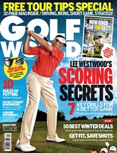 Golf World (UK Edition) omslag