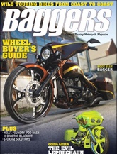 Hot Bike Baggers omslag