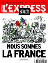 L'express International omslag
