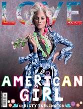 Love Magazine omslag