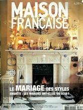 Maison Francaise Magazine omslag