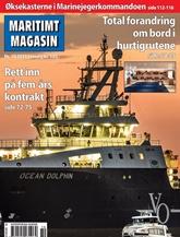 Maritimt Magasin omslag