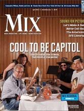 Mix Magazine/recording Industry Magazine omslag