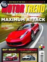 Motor Trend omslag