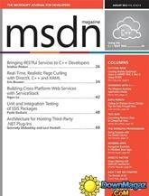 Msdn Magazine omslag