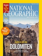 National Geographic (deutschland) omslag