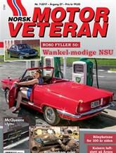 Norsk Motorveteran omslag