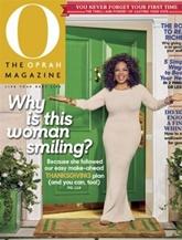 O, The Oprah Magazine omslag