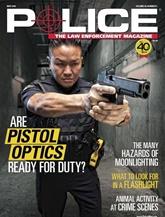 Police Magazine omslag
