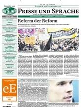 Presse Und Sprache omslag