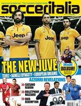 Soccer Italia omslag