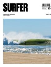 Surfer Magazine omslag