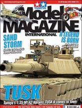 Tamiya Model Magazine omslag