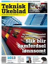 Teknisk Ukeblad omslag