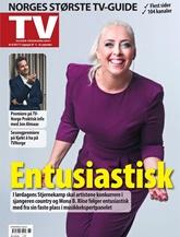 TV-guiden Programbladet omslag