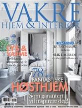 Vakre Hjem & Interiør omslag