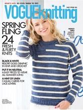 Vogue Knitting omslag