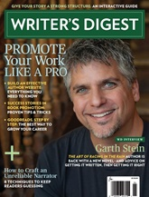Writer's Digest omslag